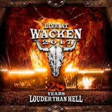 Live At Wacken 2017: 28 Years Louder Than Hell, 2 CDs und 2 DVDs