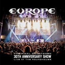 Europe: The Final Countdown - 30th Anniversary Show Live At The Roundhouse, 3 CDs