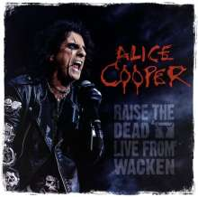 Alice Cooper: Raise The Dead - Live From Wacken (Limited-Editon-Box-Set), 3 LPs und 1 Blu-ray Disc