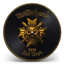 Motörhead: Bad Magic (Limited-Edition) (Picture-Disc Gold), LP