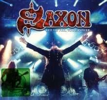 Saxon: Let Me Feel Your Power: Live, 2 CDs und 1 DVD