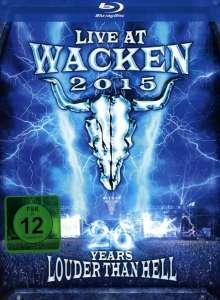 Live At Wacken 2015: 26 Years Louder Than Hell, 2 Blu-ray Discs und 2 CDs