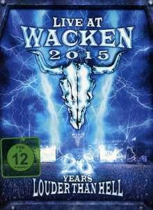 Live At Wacken 2015: 26 Years Louder Than Hell, 2 DVDs und 2 CDs