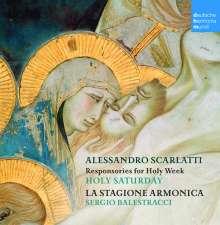 Alessandro Scarlatti (1660-1725): Responsorien für Karsamstag, CD