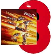 Judas Priest: Firepower (Limited-Edition) (Red Vinyl), 2 LPs