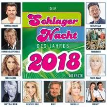 Die Schlagernacht des Jahres 2018 - Die Erste, CD