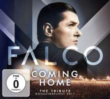 FALCO Coming Home: The Tribute Donauinselfest 2017, 1 CD und 1 DVD