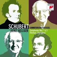 Franz Schubert (1797-1828): Symphonien Nr.1 & 5, CD