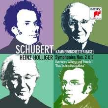 Franz Schubert (1797-1828): Symphonien Nr.2 & 3, CD