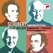 "Franz Schubert (1797-1828): Symphonie Nr.8 ""Unvollendete"", CD"