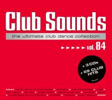 Club Sounds Vol. 84, 3 CDs