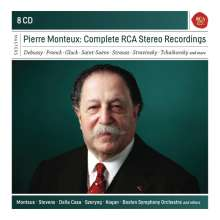 Pierre Monteux - The Complete RCA Stereo Recordings, 8 CDs
