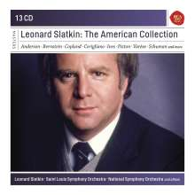 Leonard Slatkin - The American Collection, 13 CDs