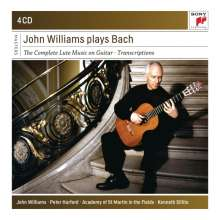 John Williams plays Bach, 4 CDs