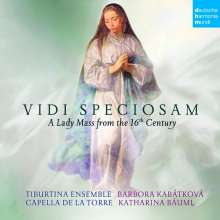 "Capella de la Torre - ""Vidi Speciosam"" A Lady Mass from the 16th Century, CD"