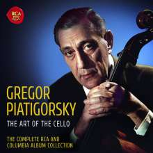 Gregor Piatigorsky - The Complete RCA & Columbia Recordings, 36 CDs