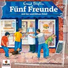 Fünf Freunde (128) - und der unsichtbare Feind, CD