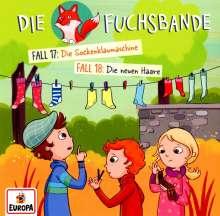 Die Fuchsbande (09.) Fall 17: Die Sockenklaumaschine / Fall 18: Die neuen Haare, CD