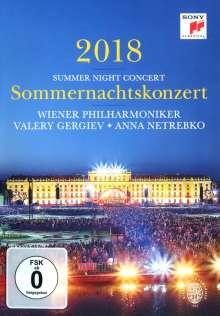 Wiener Philharmoniker - Sommernachtskonzert Schönbrunn 2018, DVD