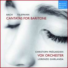 Christoph Pregardien - Cantatas for Baritone, CD