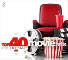 Filmmusik: Top 40 - Movie Hits, 2 CDs