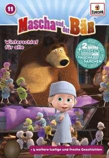 mascha und der bär 11: winterschlaf für alle dvd - jpc