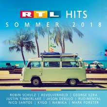 RTL HITS Sommer 2018, 2 CDs