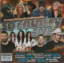 So Country 2018, 2 CDs