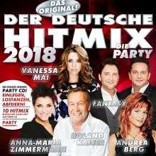 Der deutsche Hitmix 2018, CD