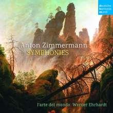 Anton Zimmermann (1741-1781): Symphonien c-moll, e-moll, B-Dur (C8, E3, B3), CD