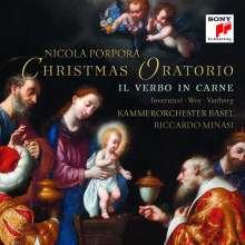 "Nicola Antonio Porpora (1686-1768): Weihnachtsoratorium ""Il Verbo in Carne"", CD"