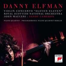 """Danny Elfman (geb. 1953): Violinkonzert """"Eleven Eleven"""", CD"""