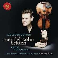 Sebastian Bohren - Mendelssohn / Britten, CD