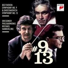 "Dmitri Schostakowitsch (1906-1975): Symphonie Nr.13 ""Babi Yar"", 2 CDs"