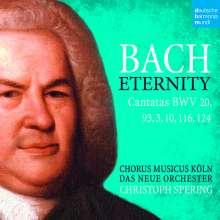 Johann Sebastian Bach (1685-1750): Kantaten BWV 3,10,20,93,116,124, 2 CDs