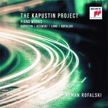 "Nikolai Kapustin (geb. 1937): Klavierwerke - ""The Kapustin Project"", CD"