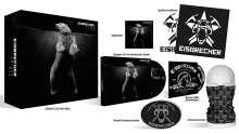 Eisbrecher: Ewiges Eis - 15 Jahre Eisbrecher (Limited-Fanbox), 2 CDs, 1 DVD und 2 Merchandise