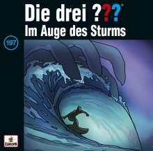 Die drei ??? (Folge 197) - Im Auge des Sturms, CD