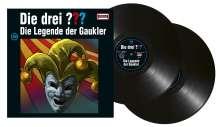 Die drei ???: Die drei ??? (Folge 198) Die Legende der Gaukler (180g) (Limited-Edition), 2 LPs