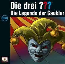 Die drei ??? (Folge 198) - Die Legende der Gaukler, CD