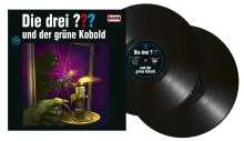 Die drei ???: Die drei ??? und der grüne Kobold (Folge 199) (180g), 2 LPs