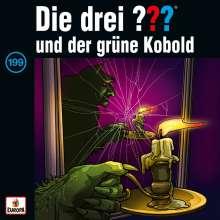Die drei ??? (Folge 199) - und der grüne Kobold, CD