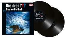 Die drei ???: Die drei ??? (Folge 202): Das weiße Grab (180g) (Limited Edition), 2 LPs