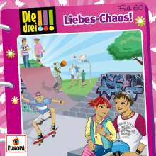 Die drei !!! Fall 60 - Liebes-Chaos, CD