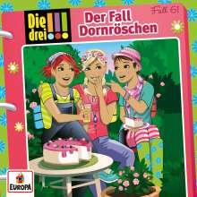 Die drei !!! Fall 61- Der Fall Dornröschen, CD