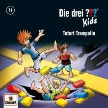 Die drei ??? Kids 071: Tatort Trampolin, CD