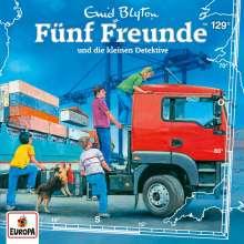 Fünf Freunde (129) - und die kleinen Detektive, CD
