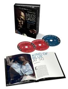 Miles Davis (1926-1991): Kind Of Blue (Deluxe 50th Anniversary Collector's Edition), 2 CDs und 1 DVD