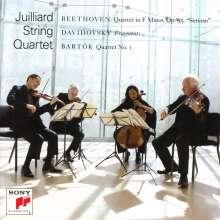 Juilliard Quartet - Beethoven / Bartok / Davidovsky, CD