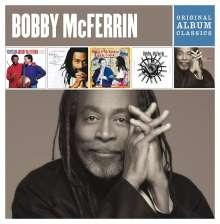 Bobby McFerrin (geb. 1950): Original Album Classics, 5 CDs